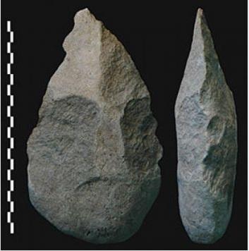 Acheuleaanse vuistbijl va, Kokiselei 4, 1.760.000 jaar oud